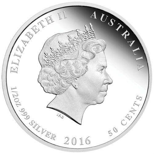 2016 Year of the Monkey - 1/2 oz - Silver Coin – The Perth Mint 999 & 9999