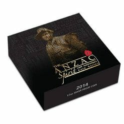 2014 First Convoy ANZAC Spirit 100th Anniversary .999 1/2oz Silver Proof Coin - 1914/1914