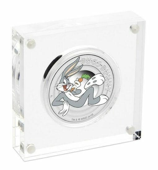 2018 Looney Tunes - Bugs Bunny - 1/2oz .9999 Silver Proof Coin - The Perth Mint
