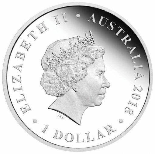 2018 Wedding 1oz .9999 Silver Proof Coin - The Perth Mint