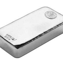 Perth Mint 1kg .999 Silver Cast Bullion Bar