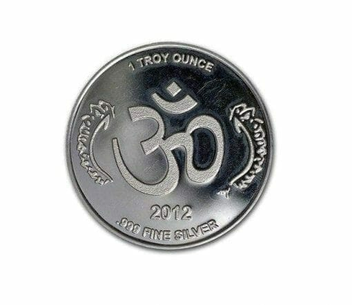 2012 Ganesha 1oz .999 Silver Bullion Coin 1