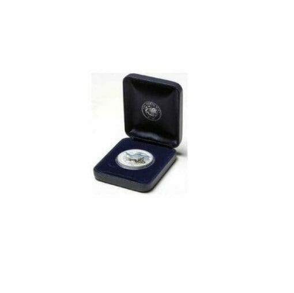 2005 Australian Antarctic Territory - Leopard Seal - 1oz .999 Silver Proof Coin - Perth Mint 2