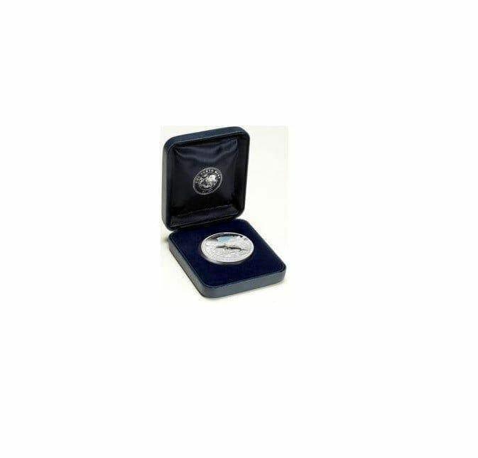 2008 Australian Antarctic Territory - Humpback Whale - 1oz .999 Silver Proof Coin - Perth Mint 1