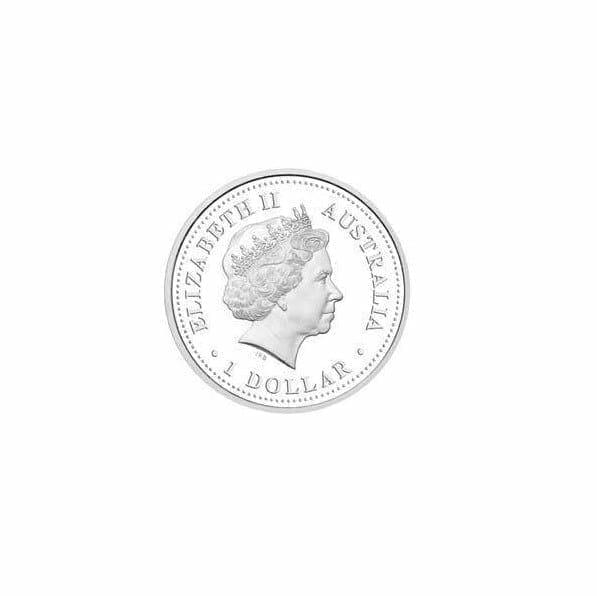 2005 Australian Antarctic Territory - Leopard Seal - 1oz .999 Silver Proof Coin - Perth Mint 3