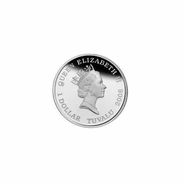 2008 Australian Antarctic Territory - Humpback Whale - 1oz .999 Silver Proof Coin - Perth Mint 2