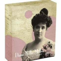 2011 Dame Nellie Melba (1861 - 1931) 1oz .999 Silver Proof Coin - Perth Mint