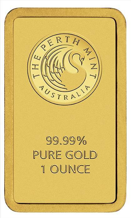 Perth Mint Kangaroo 1oz .9999 Minted Gold Bar