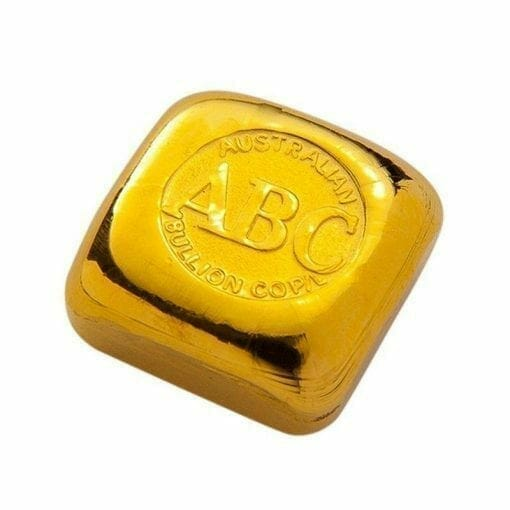 ABC 1oz .9999 Gold Cast Bullion Bar