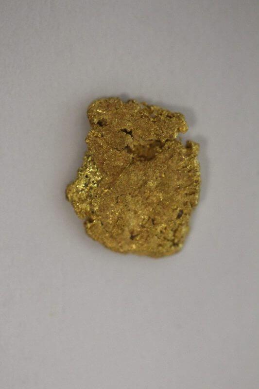 Natural Western Australian Gold Nugget - 0.58g