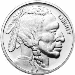 Buffalo / Indian Head 1oz .999 Silver Bullion Coin - NTR Metals