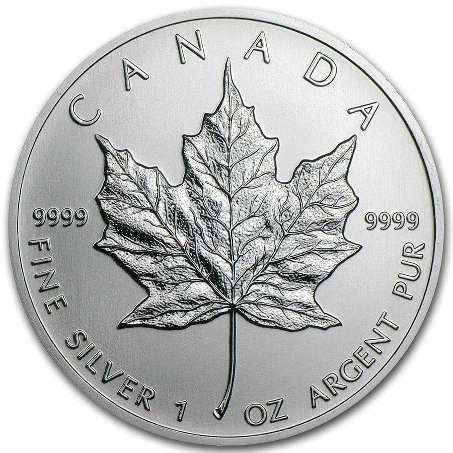 2013 Maple Leaf 1oz .9999 Silver Bullion Coin - Royal Canadian Mint 1