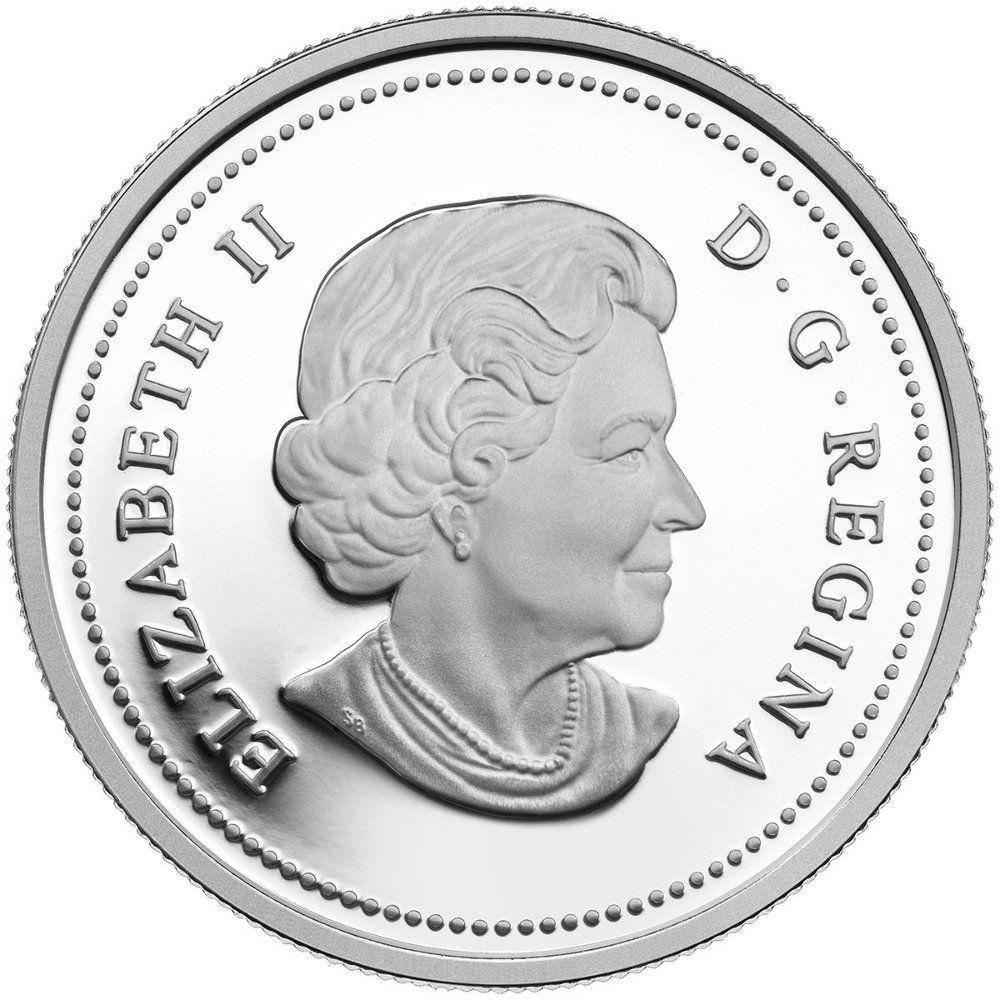 2014 Exploring Canada - The Vikings - $15 .9999 Silver Coin - Royal Canadian Mint