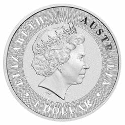 2018 Australian Kangaroo 1oz .9999 Silver Bullion Coin 4