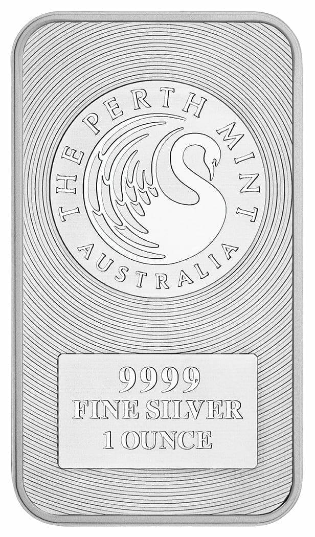 Australian Kangaroo 1oz .9999 Silver Minted Bullion Bar 2