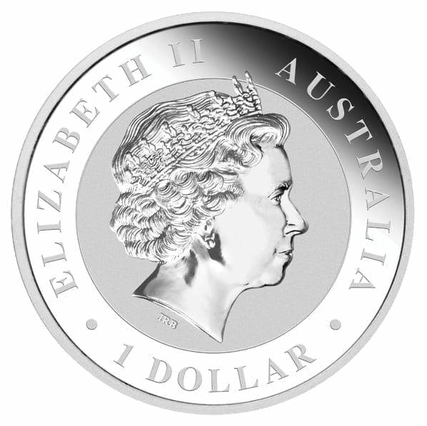 2013 Australian Koala 1oz .999 Silver Bullion Coin - The Perth Mint 3