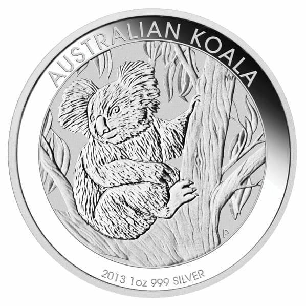 2013 Australian Koala 1oz .999 Silver Bullion Coin - The Perth Mint 1
