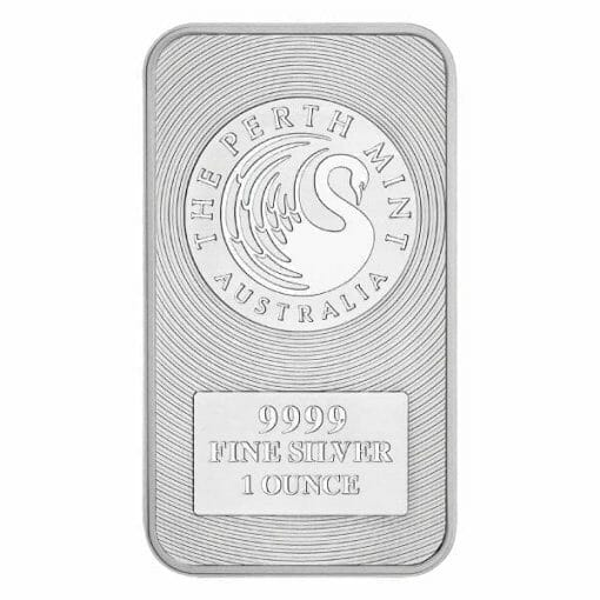 Australian Kangaroo 1oz .9999 Silver Minted Bullion Bar 1