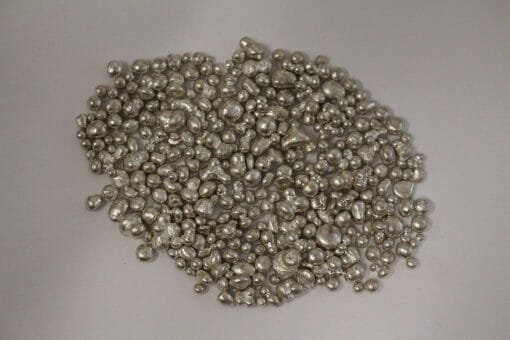 100g Fine Silver Granules - .999 Pure Silver 100 Grams - Jewellery Making / Alloying 1