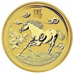 2014 Year of the Horse 1/10oz .9999 Gold Bullion Coin - Lunar Series - The Perth Mint 4