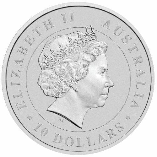 2015 Australian Koala 10oz .999 Silver Bullion Coin 2