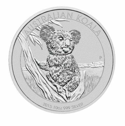 2015 Australian Koala 10oz .999 Silver Bullion Coin 1