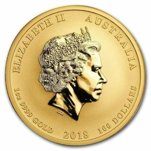 2018 Dragon and Phoenix 1oz .9999 Gold Bullion Coin - The Perth Mint 3