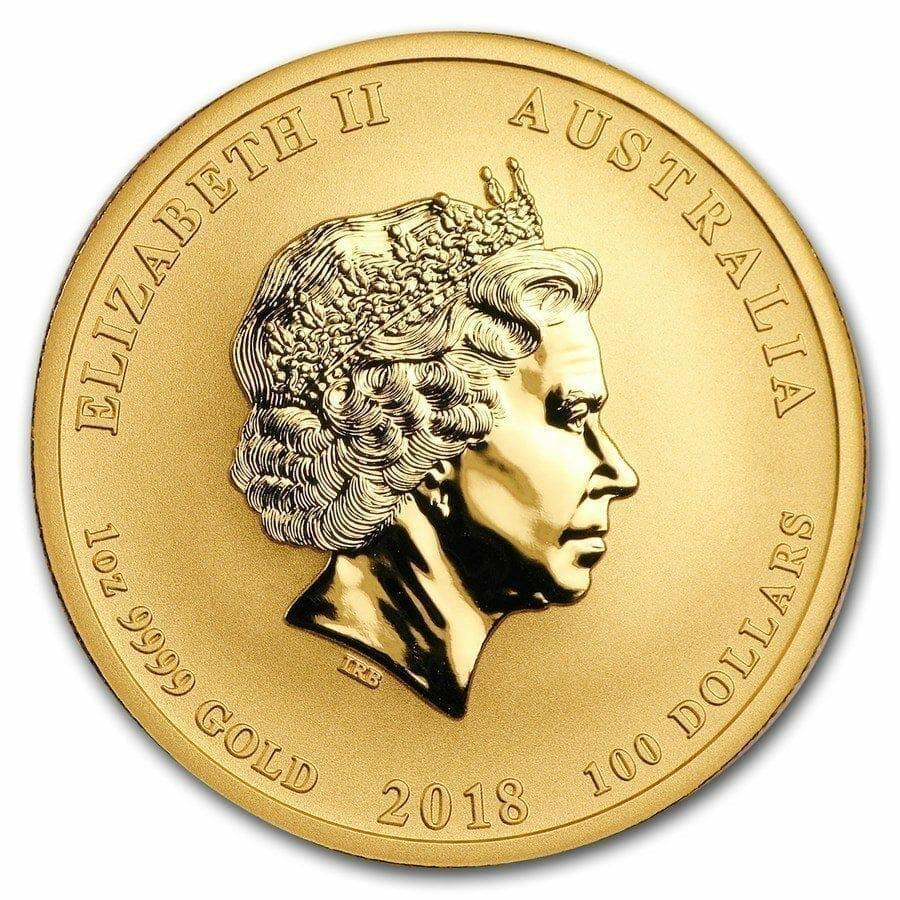 2018 Dragon and Phoenix 1oz .9999 Gold Bullion Coin - The Perth Mint 5