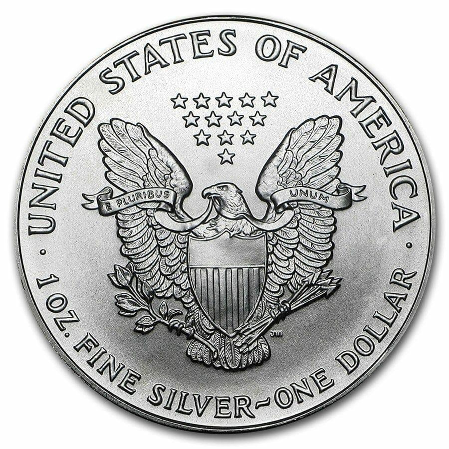 1993 American Eagle 1oz .999 Silver Bullion Coin ASE 2