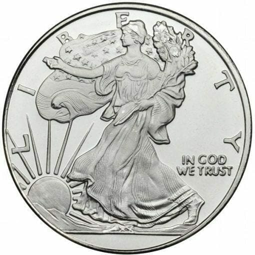 Walking Liberty 1oz .999 Silver Bullion Coin 1