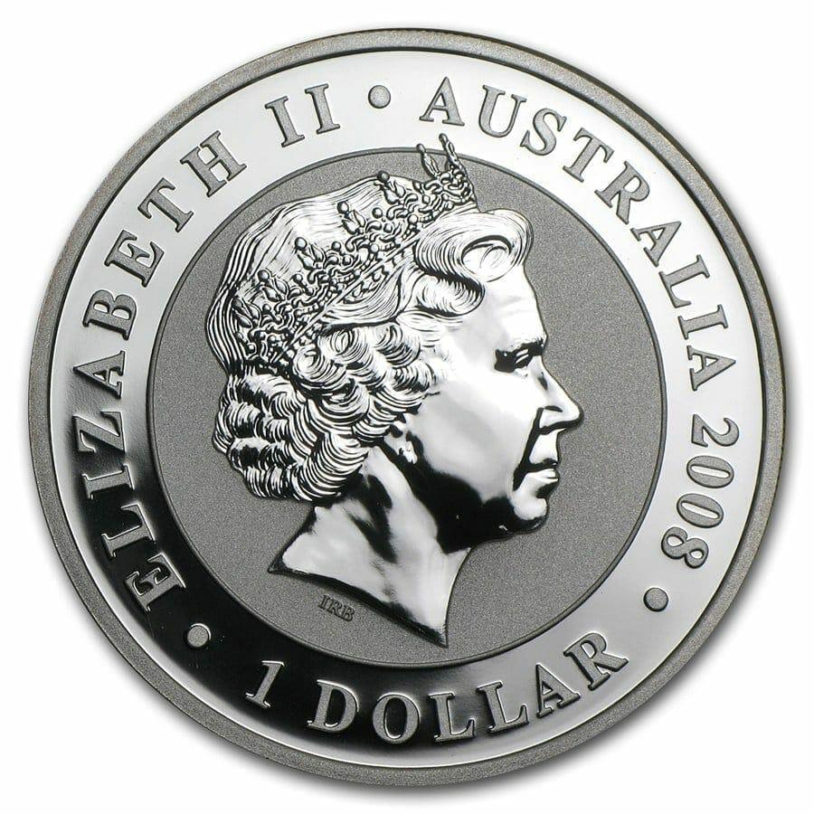 2008 Australian Koala 1oz .999 Silver Bullion Coin – The Perth Mint 3