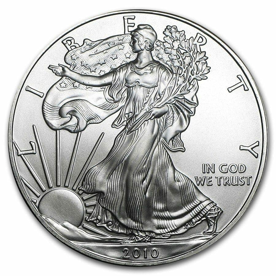 2010 American Eagle 1oz .999 Silver Bullion Coin ASE 1
