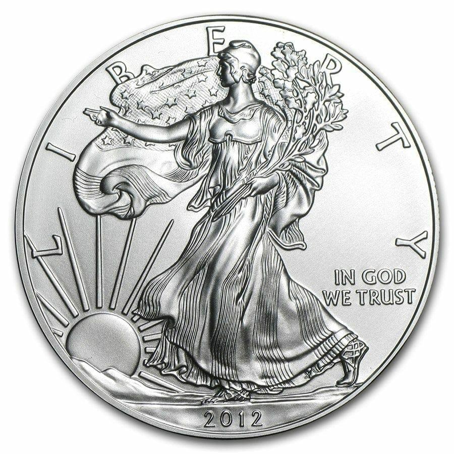 2012 American Eagle 1oz .999 Silver Bullion Coin ASE 1