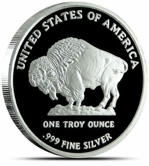 2013 Buffalo / Indian Head 1oz .999 Silver Bullion Coin 2