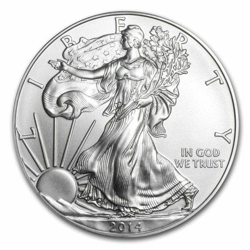 2014 American Eagle 1oz .999 Silver Bullion Coin ASE 1