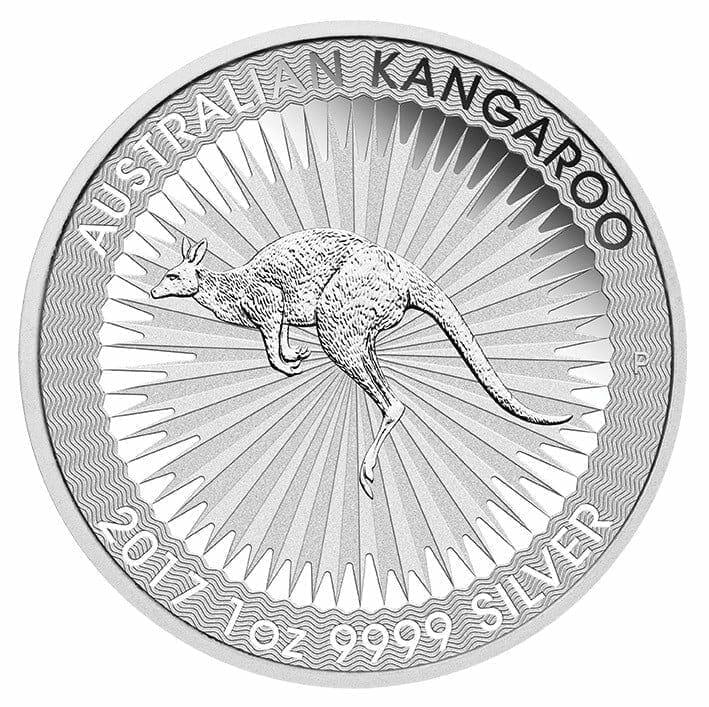 2017 Australian Kangaroo 1oz Silver Bullion Coin 2