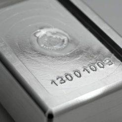 Scottsdale Silver 1kg .999 Silver Cast Bullion Stacker Bar 7