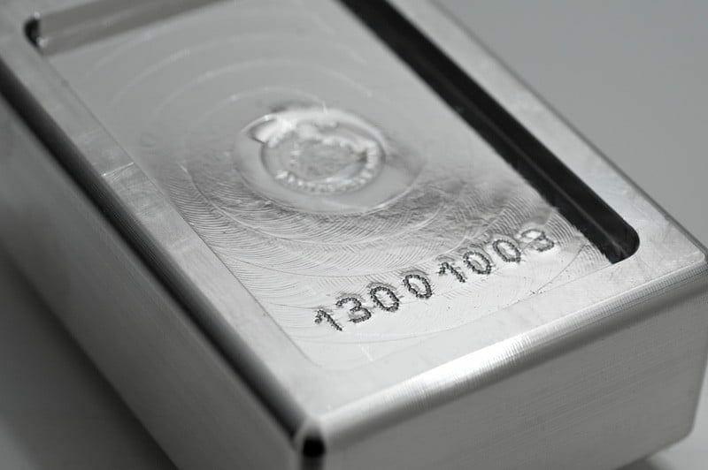 Scottsdale Silver 1kg .999 Silver Cast Bullion Stacker Bar 4