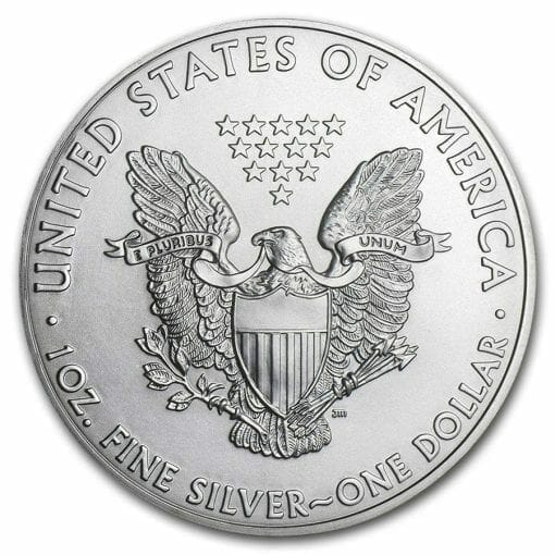 2011 American Eagle 1oz .999 Silver Bullion Coin ASE - US Mint 2