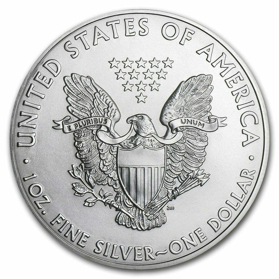 2011 American Eagle 1oz .999 Silver Bullion Coin ASE - US Mint 2