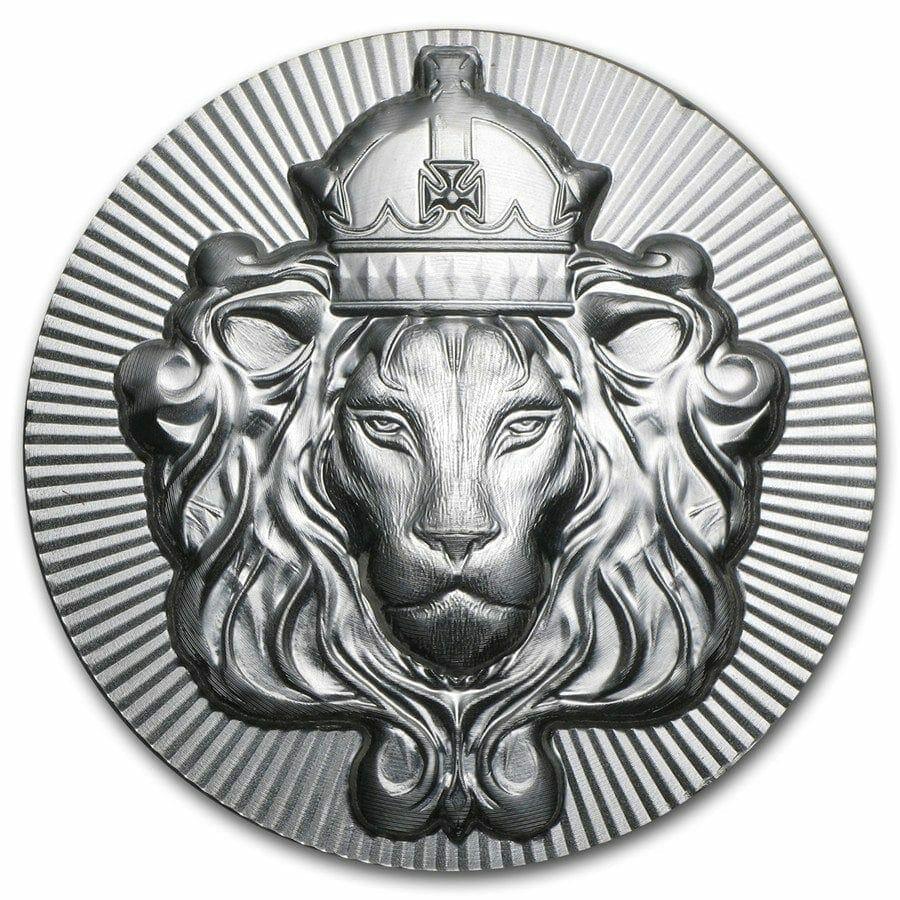 Scottsdale Silver 5oz .999 Silver Bullion Stacker Round Coin 1