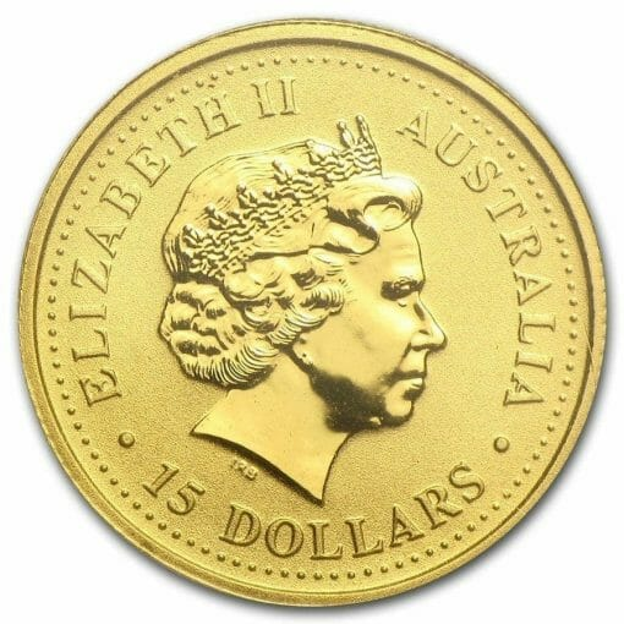 1999 The Australian Nugget Series 1/10oz .9999 Gold Bullion Coin 3