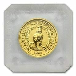 1999 The Australian Nugget Series 1/10oz .9999 Gold Bullion Coin 4