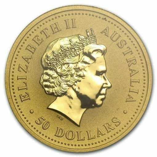 1999 The Australian Nugget Series 1/2oz .9999 Gold Bullion Coin - The Perth Mint 3