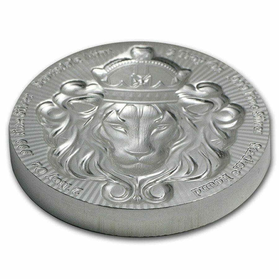 Scottsdale Silver 2oz .999 Silver Bullion Stacker Round Coin 3