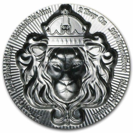 Scottsdale Silver 2oz .999 Silver Bullion Stacker Round Coin 2