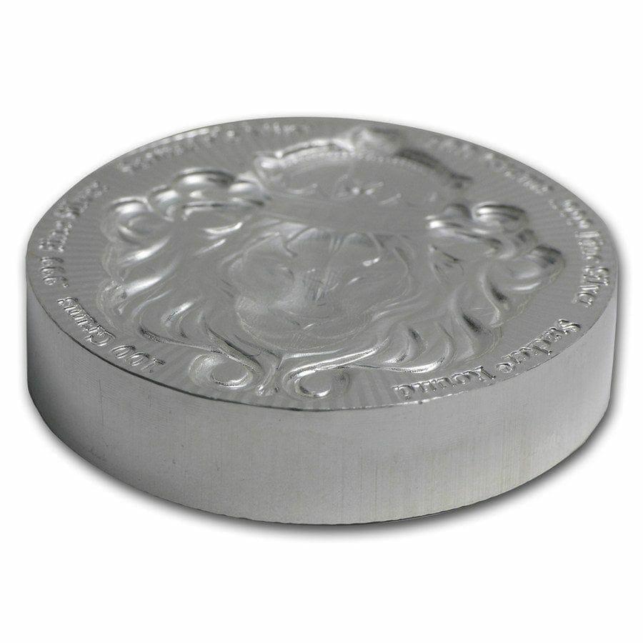 Scottsdale Silver 100 Grams .999 Silver Bullion Stacker Round Coin - 100g 3