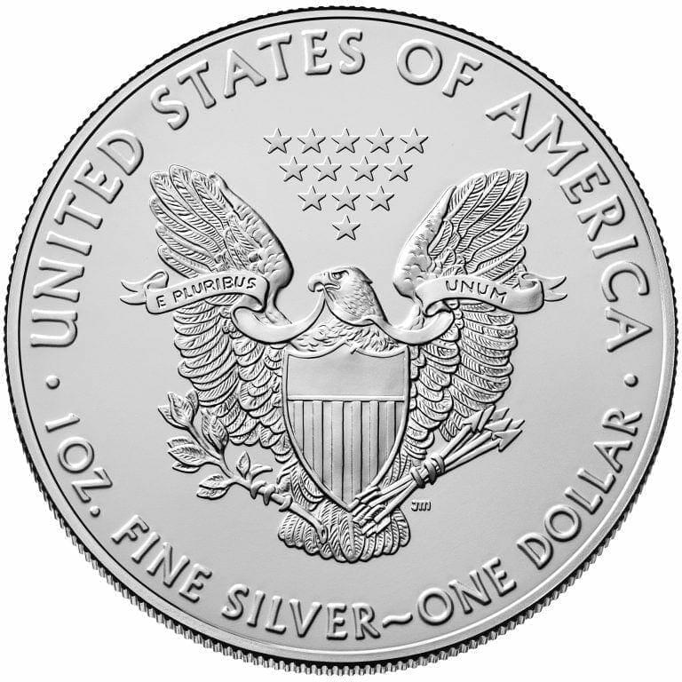 2016 American Eagle 1oz .999 Silver Bullion Coin ASE 2