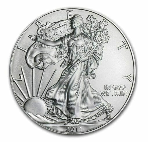 2011 American Eagle 1oz .999 Silver Bullion Coin ASE - US Mint 1