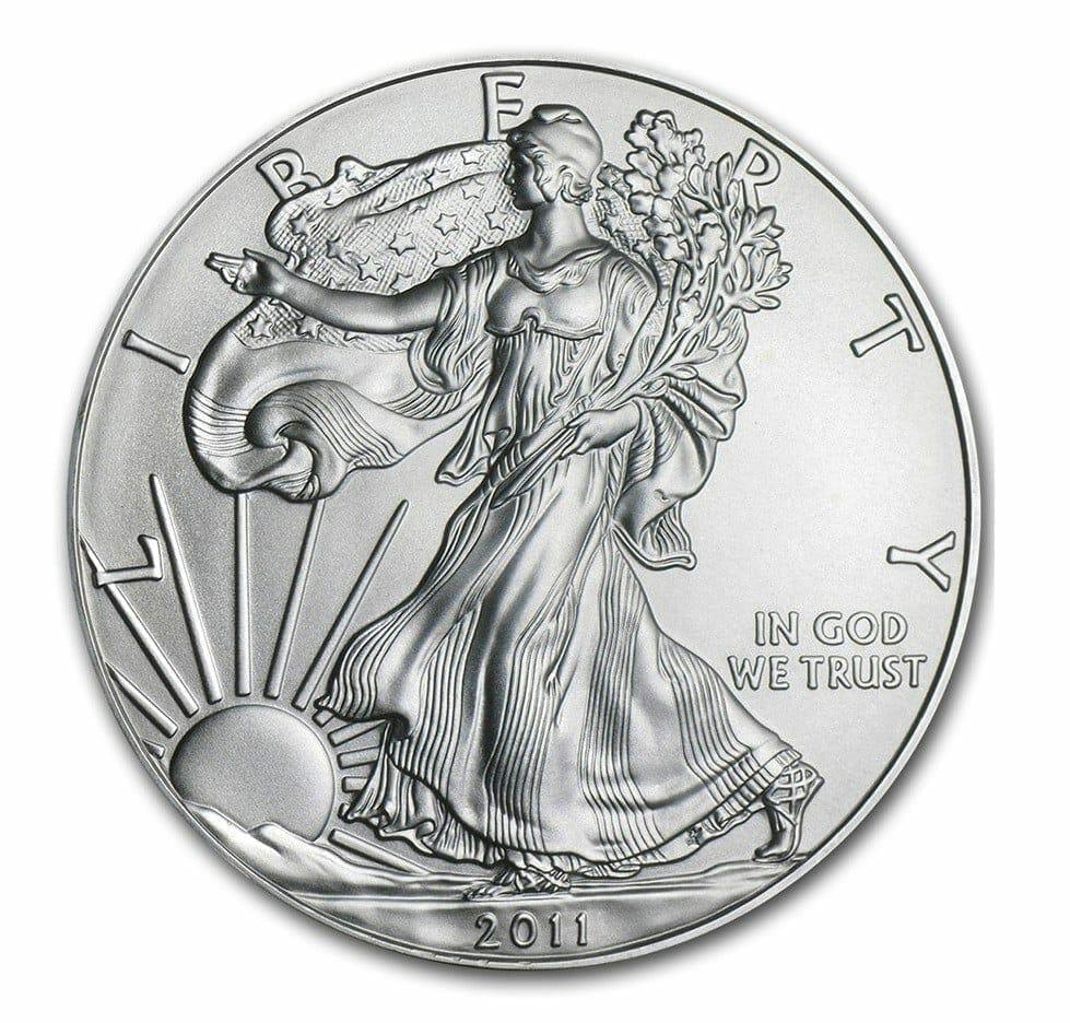 2011 American Eagle 1oz .999 Silver Bullion Coin ASE - US Mint 1